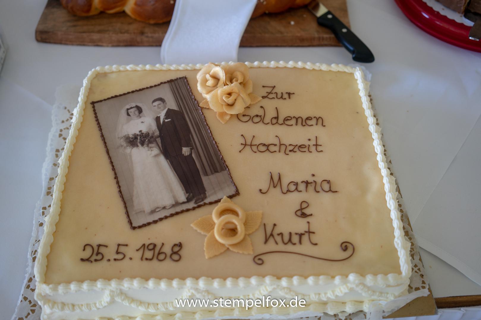 Dekoration Zur Goldenen Hochzeit Stempelfox